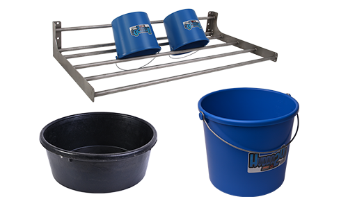 Pails, Pans, Buckets and Racks